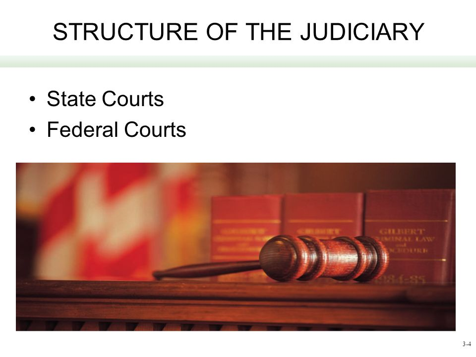 STRUCTURE OF THE JUDICIARY