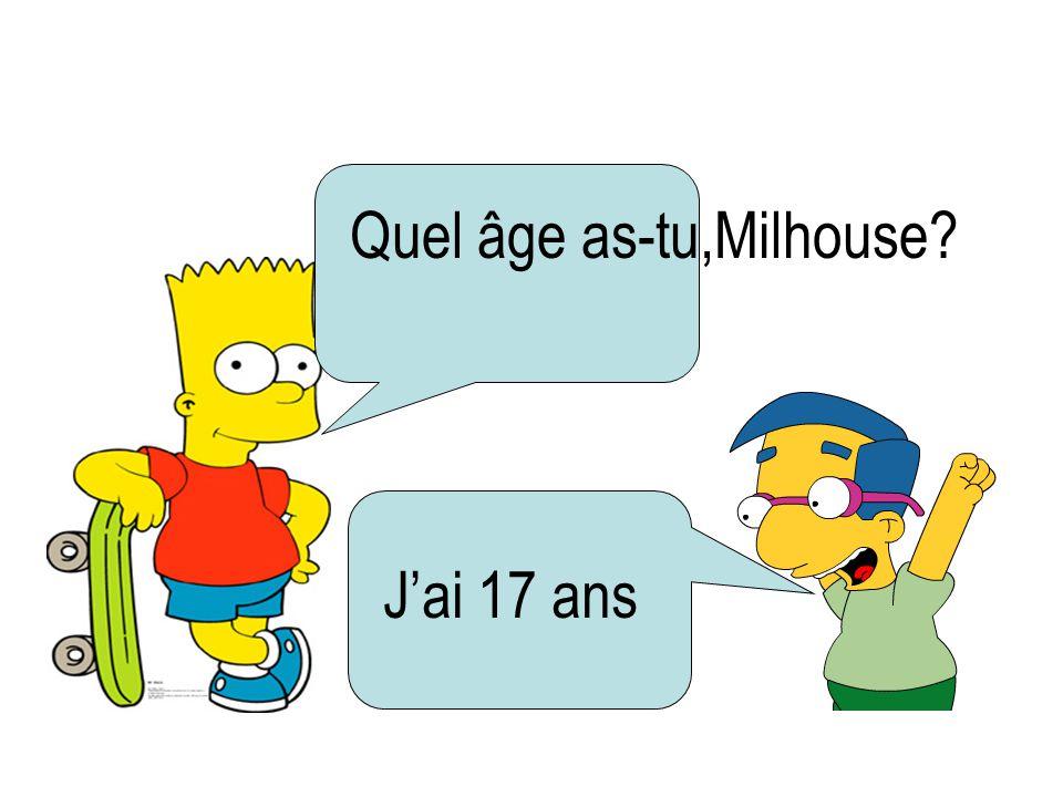 Quel âge as-tu,Milhouse