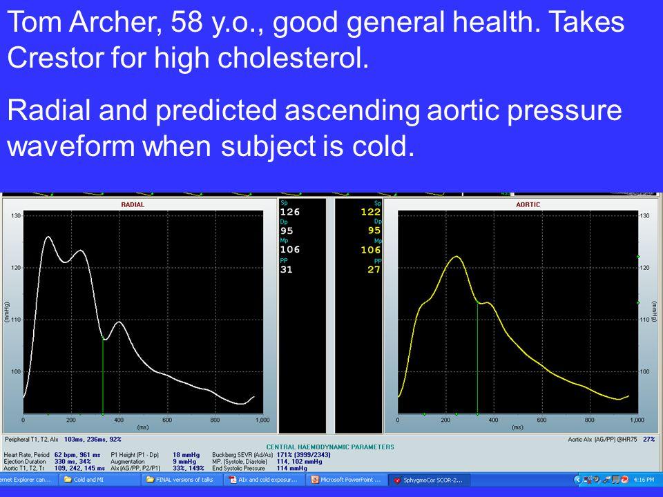 Tom Archer, 58 y. o. , good general health