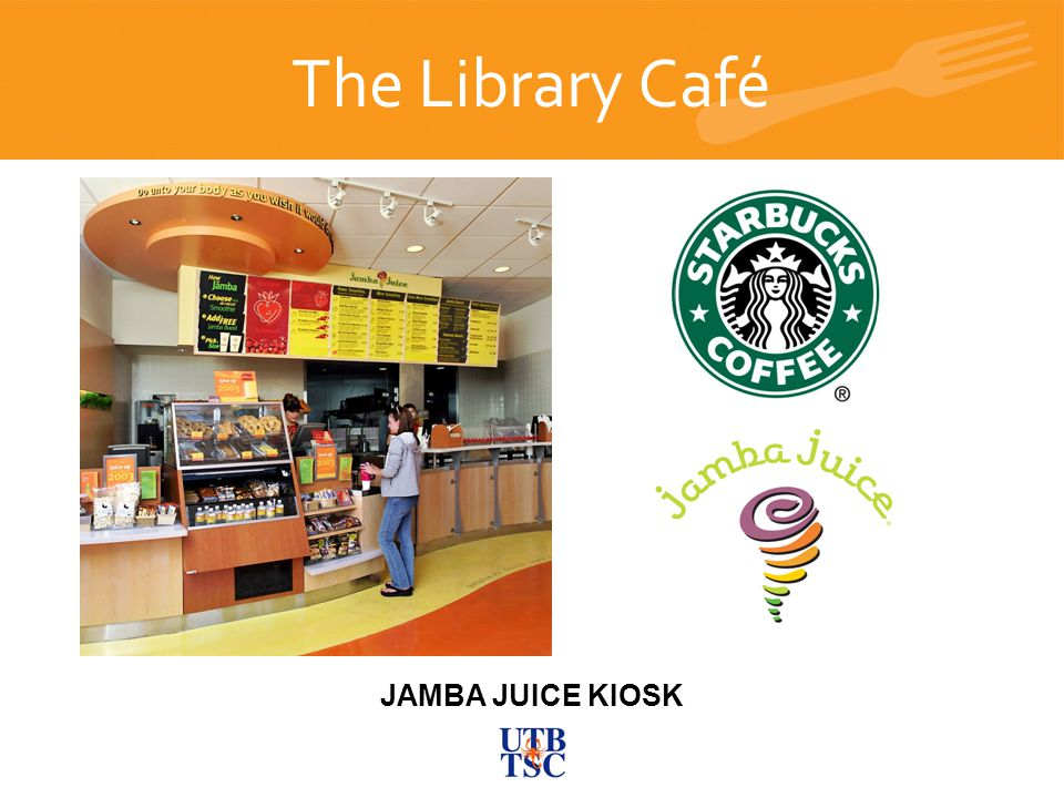 The Library Café Closing slide JAMBA JUICE KIOSK