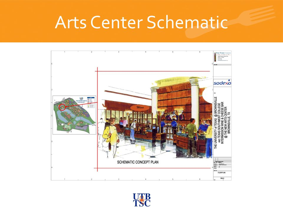Arts Center Schematic Future C-Store and Bistro JAMBA JUICE Future