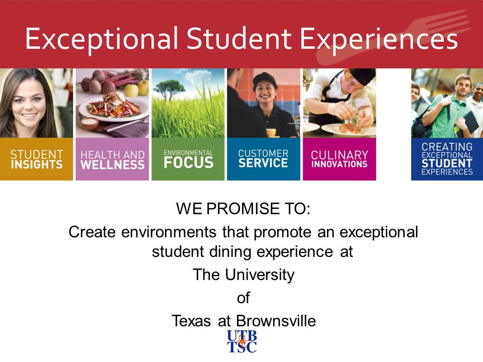 Exceptional Student Experiences