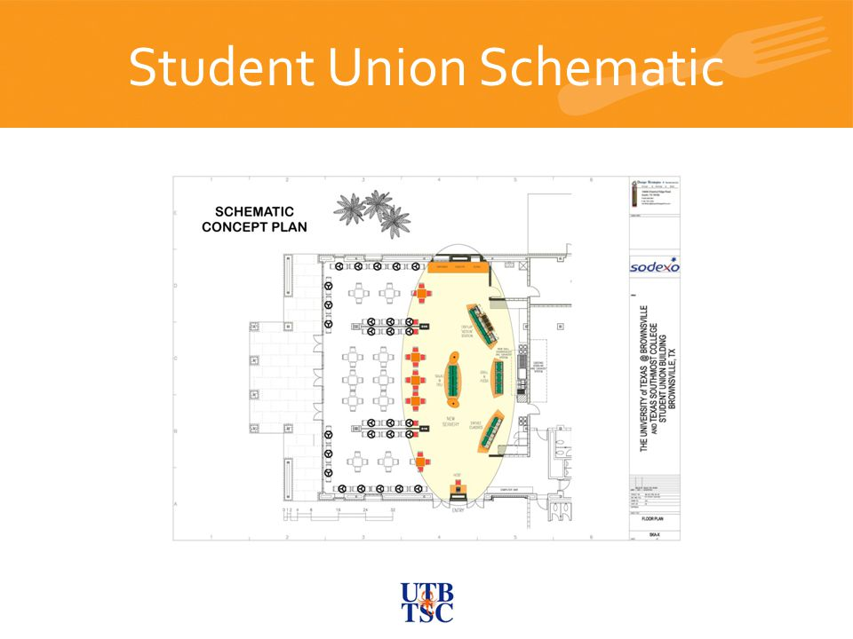 Student Union Schematic