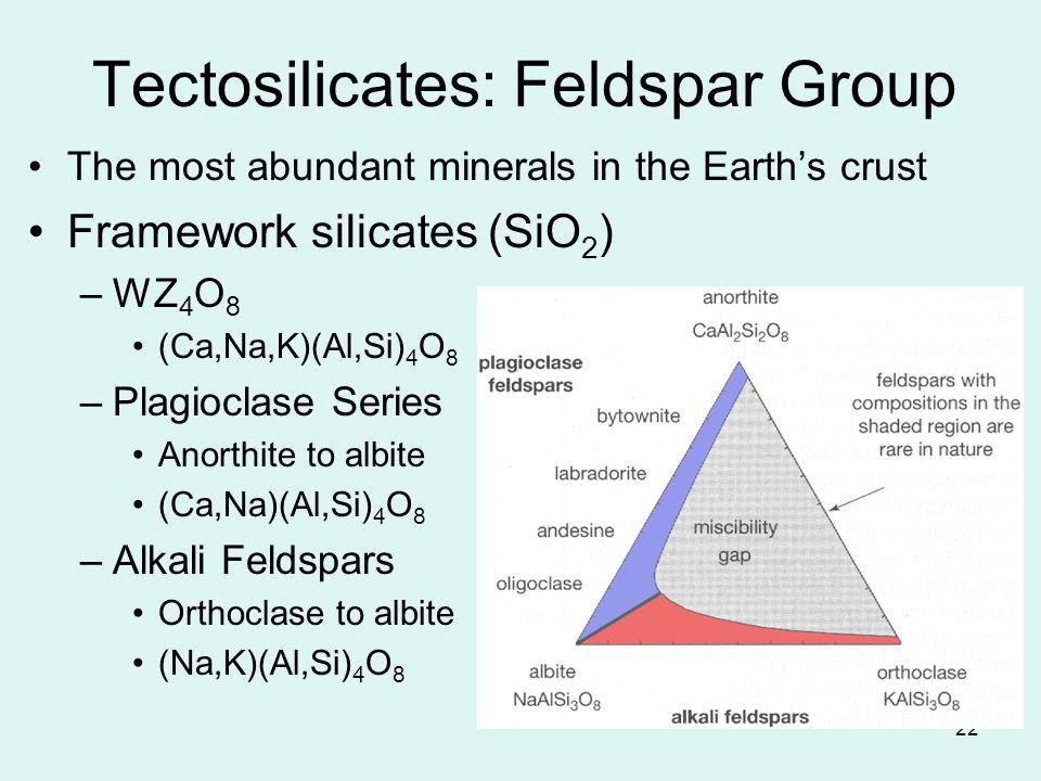 Tectosilicates: Feldspar Group