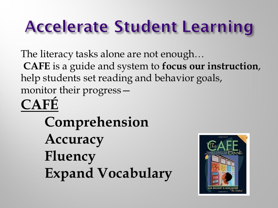 Accelerate Student Learning