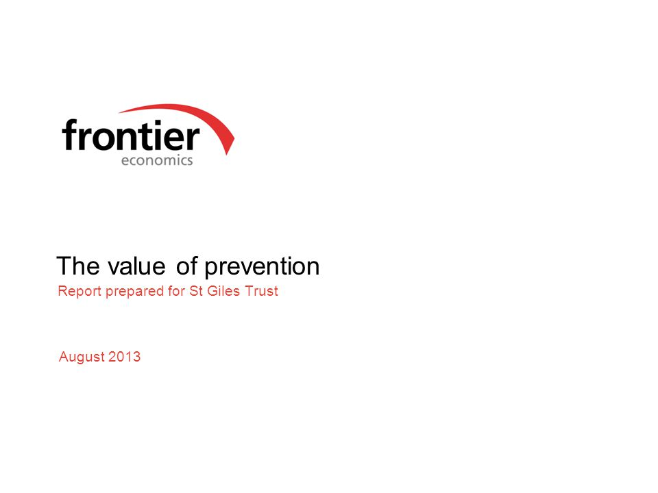 The value of prevention