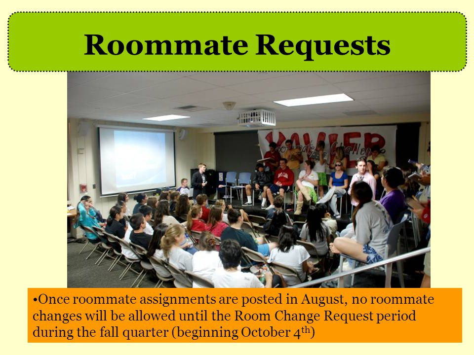 Roommate Requests