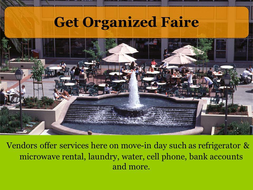 Get Organized Faire
