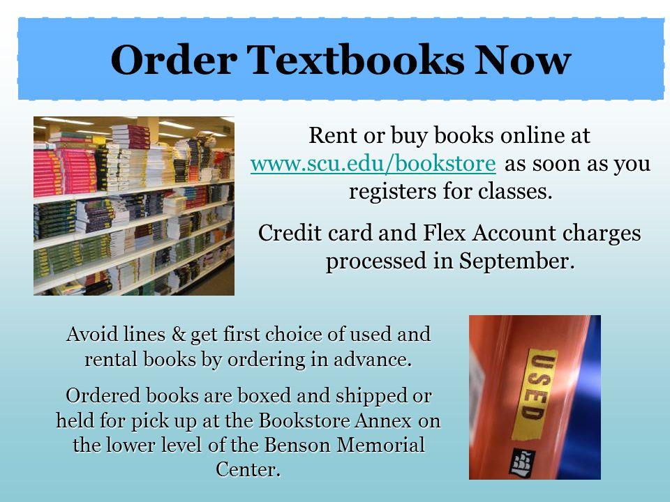 Order Textbooks Now