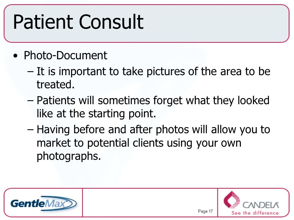 Patient Consult Photo-Document