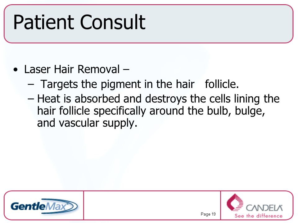 Patient Consult Laser Hair Removal –