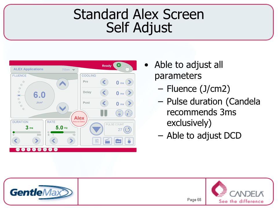 Standard Alex Screen Self Adjust