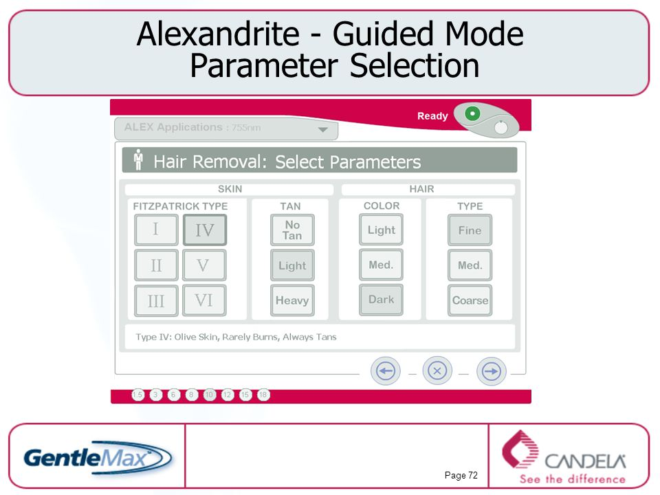 Alexandrite - Guided Mode Parameter Selection
