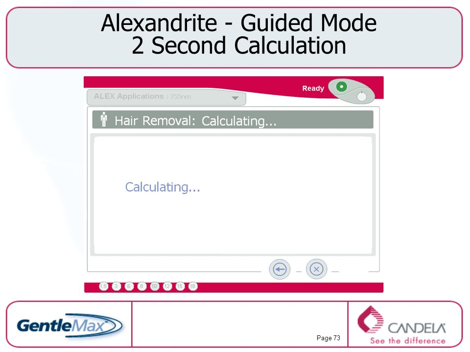 Alexandrite - Guided Mode 2 Second Calculation
