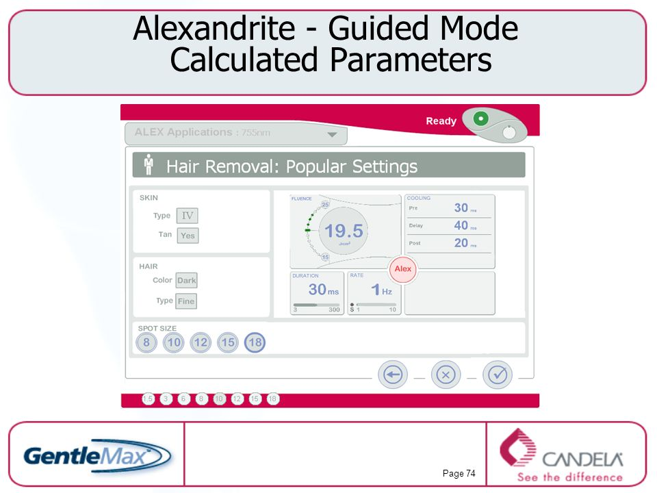 Alexandrite - Guided Mode Calculated Parameters