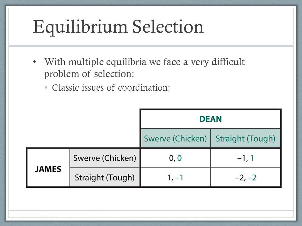 Equilibrium Selection
