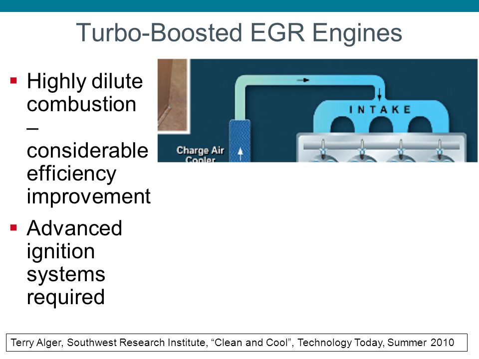 Turbo-Boosted EGR Engines