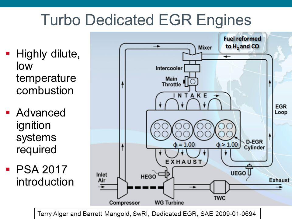 Turbo Dedicated EGR Engines