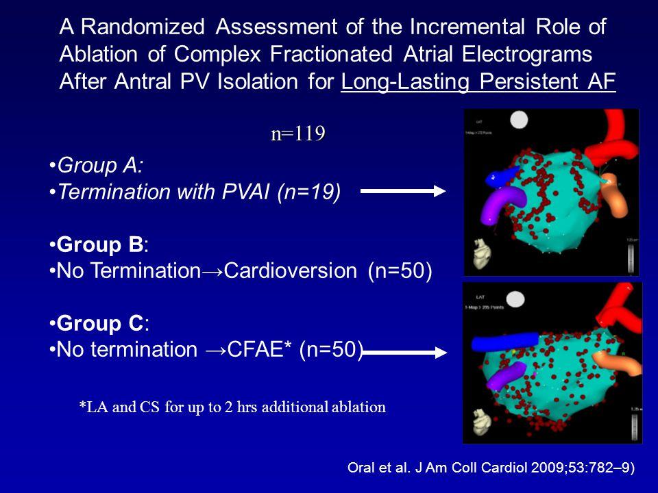 Oral et al. J Am Coll Cardiol 2009;53:782–9)