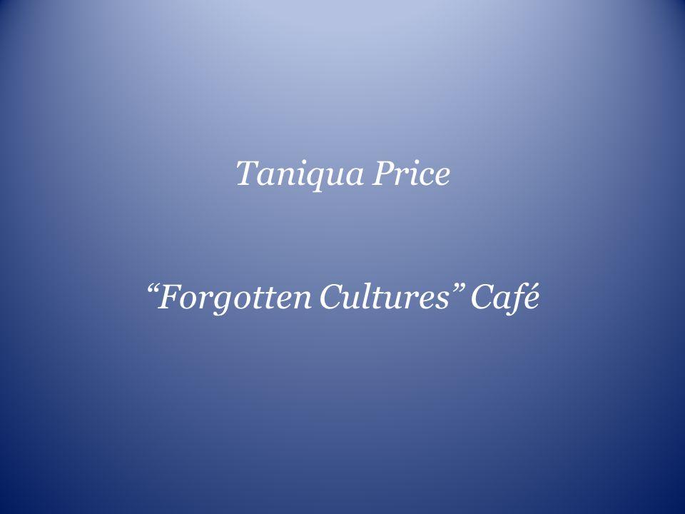 Forgotten Cultures Café