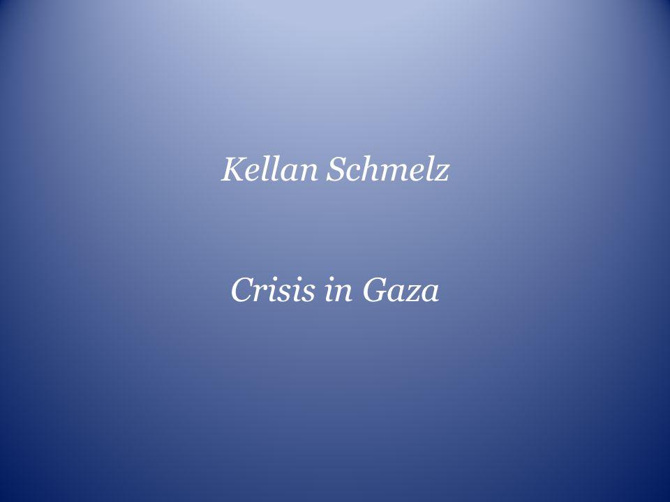 Kellan Schmelz Crisis in Gaza