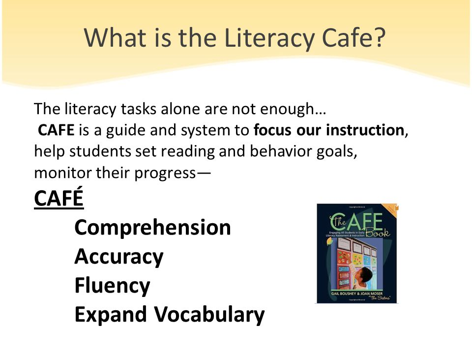 What is the Literacy Cafe