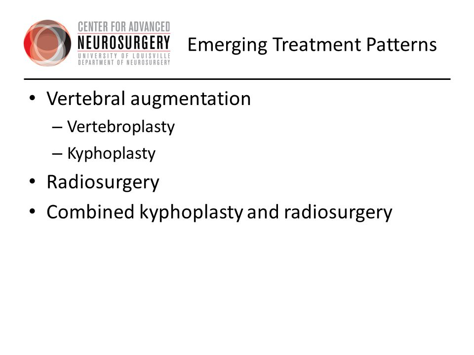 Emerging Treatment Patterns