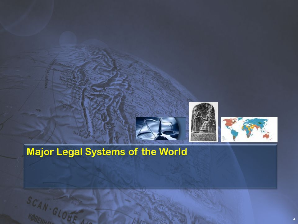 Major Legal Systems of the World