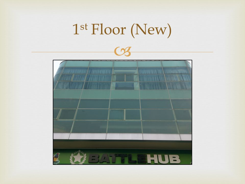 1st Floor (New)