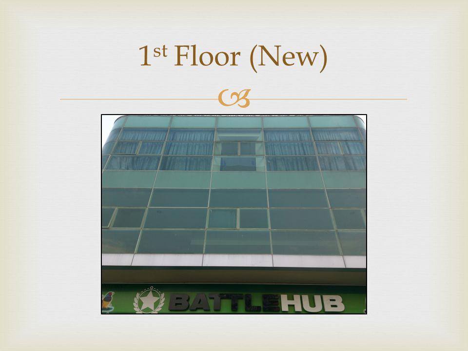 1st Floor (New)