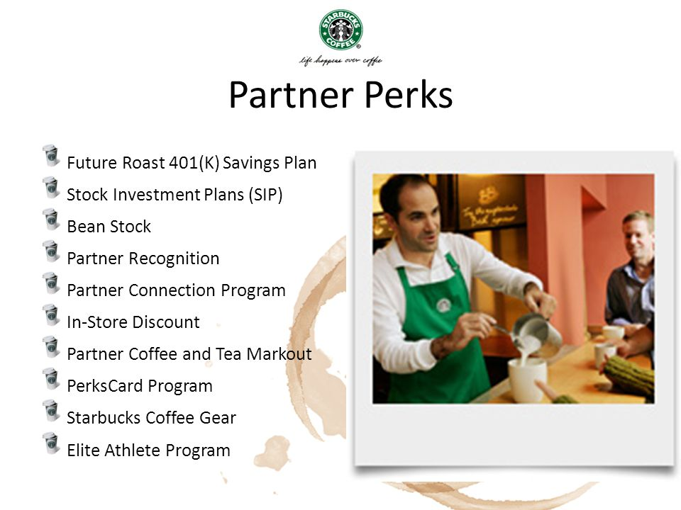 Partner Perks Future Roast 401(K) Savings Plan