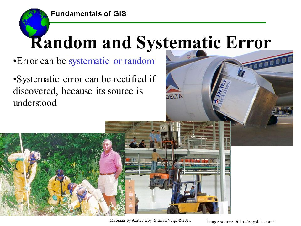 Random and Systematic Error