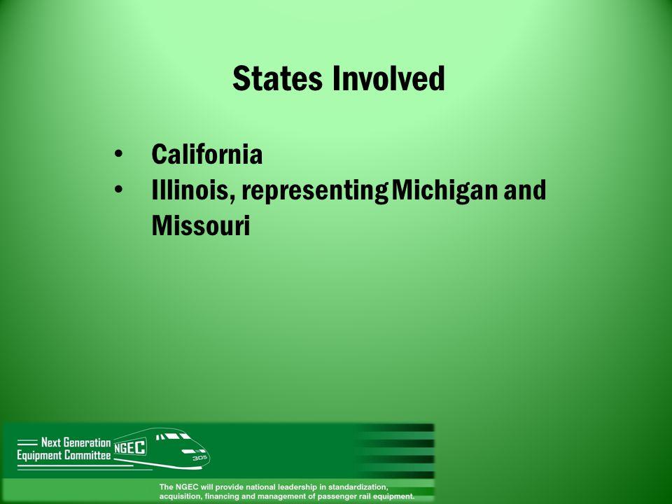 States Involved California
