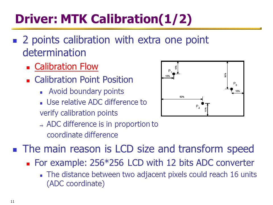 Driver: MTK Calibration(1/2)