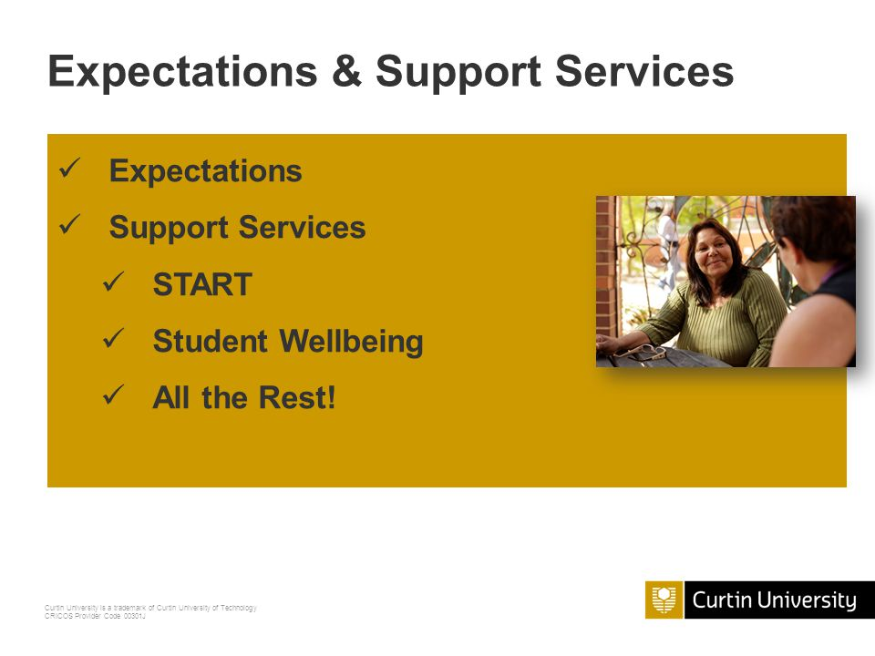 Expectations & Support Services