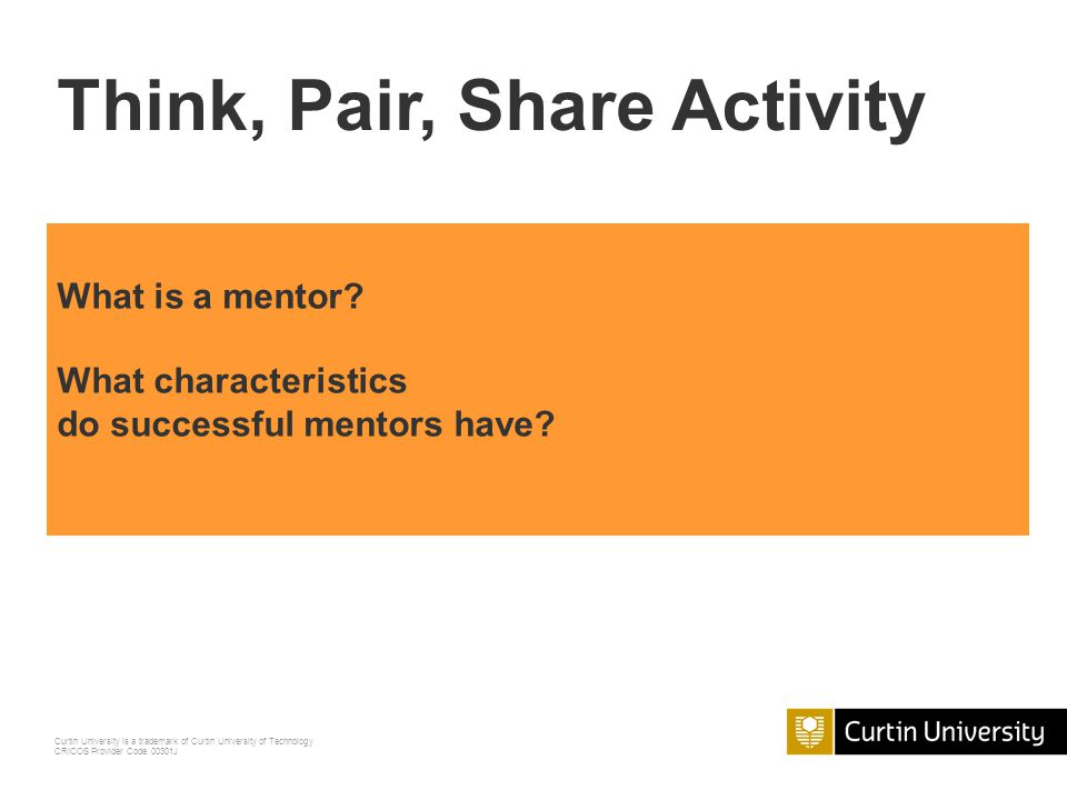 Think, Pair, Share Activity