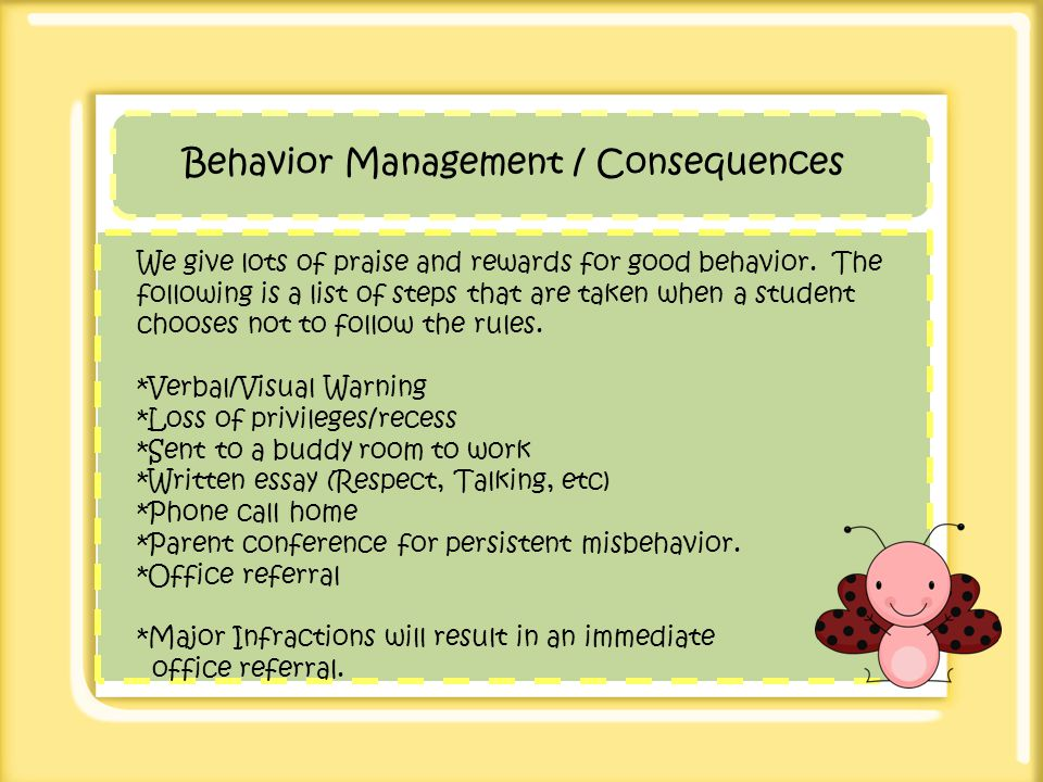 essay consequences of behavior Criminology : the study of crime and behavior   which leaves them ill-prepared to plan-out and execute behavior while being aware of the possible consequences.