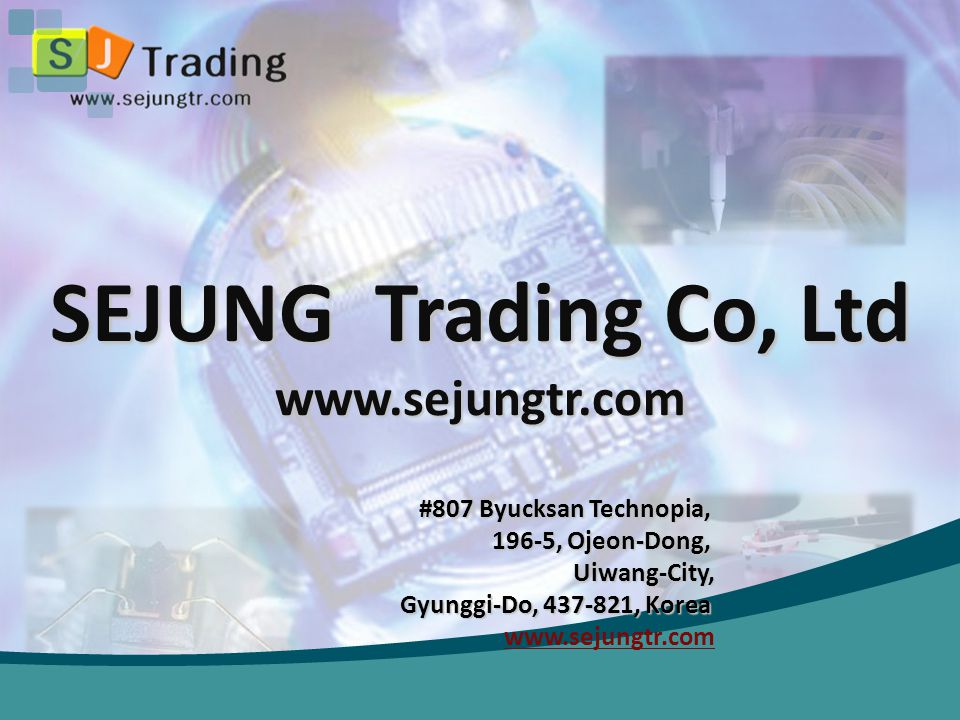 SEJUNG Trading Co, Ltd