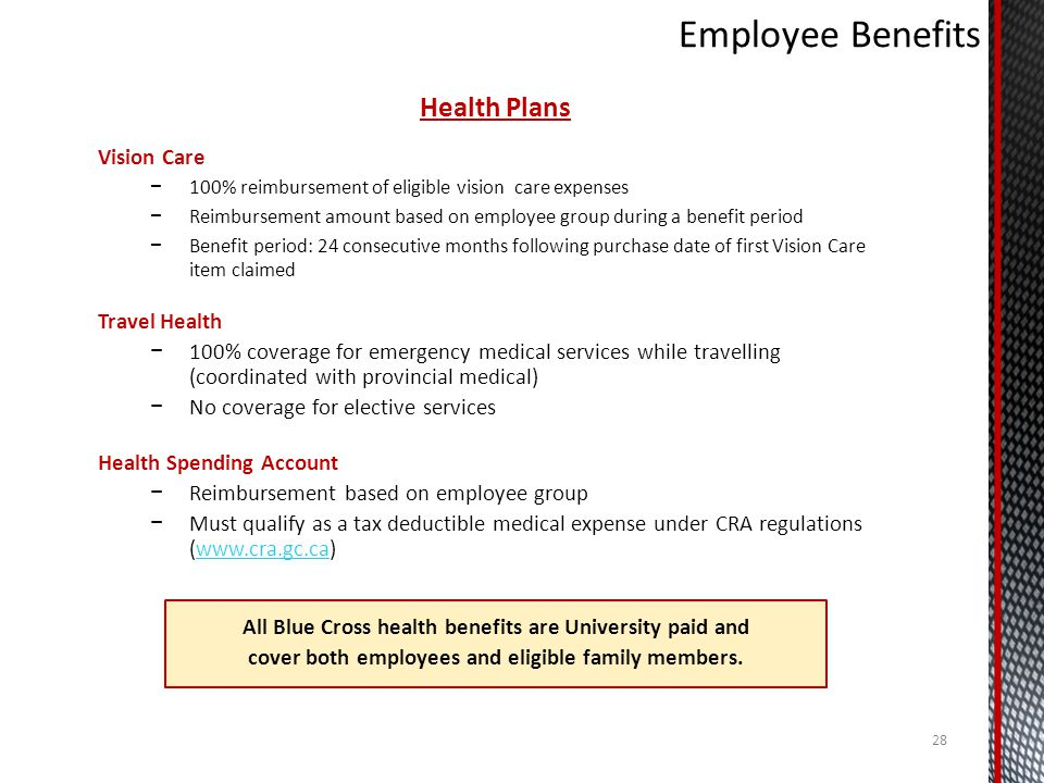 Employee Benefits Health Plans Vision Care Travel Health
