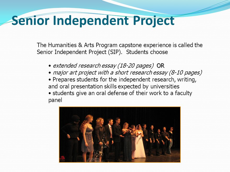 Senior Independent Project