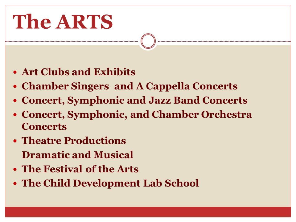 The ARTS Art Clubs and Exhibits