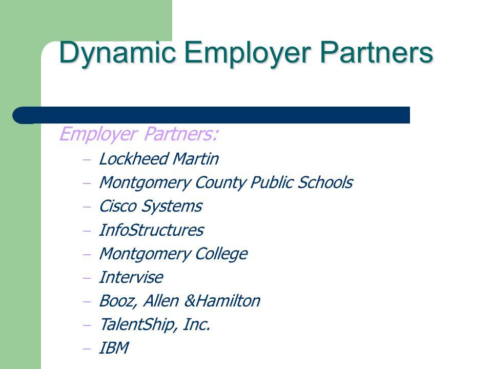 Dynamic Employer Partners