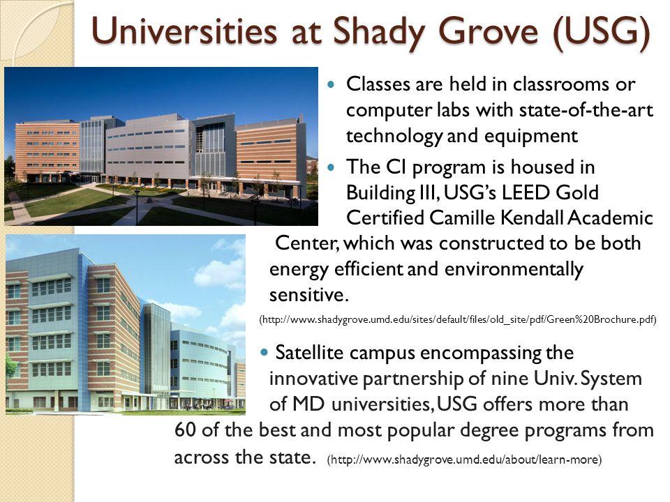 Universities at Shady Grove (USG)