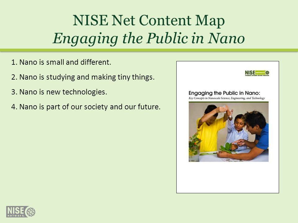 Engaging the Public in Nano