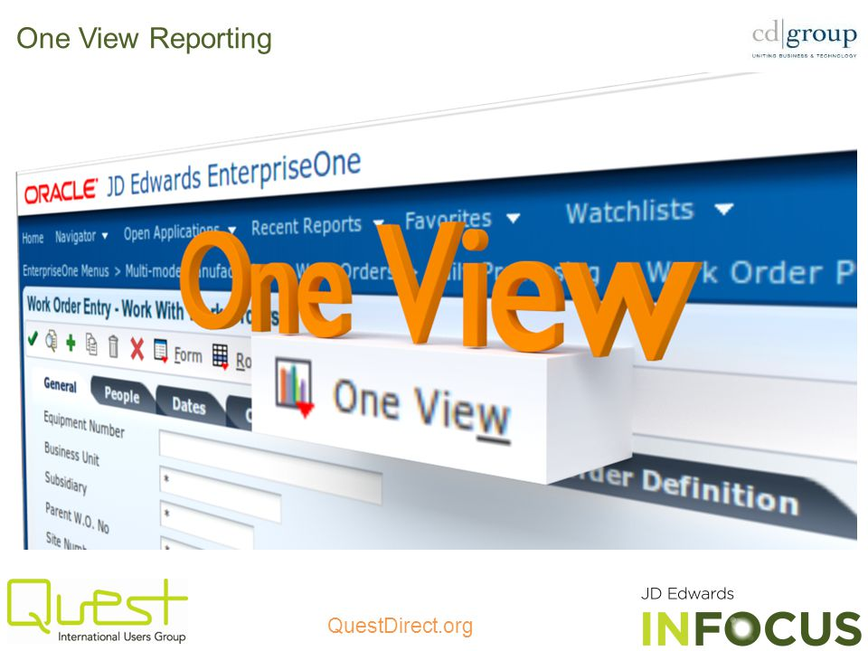 One View Reporting