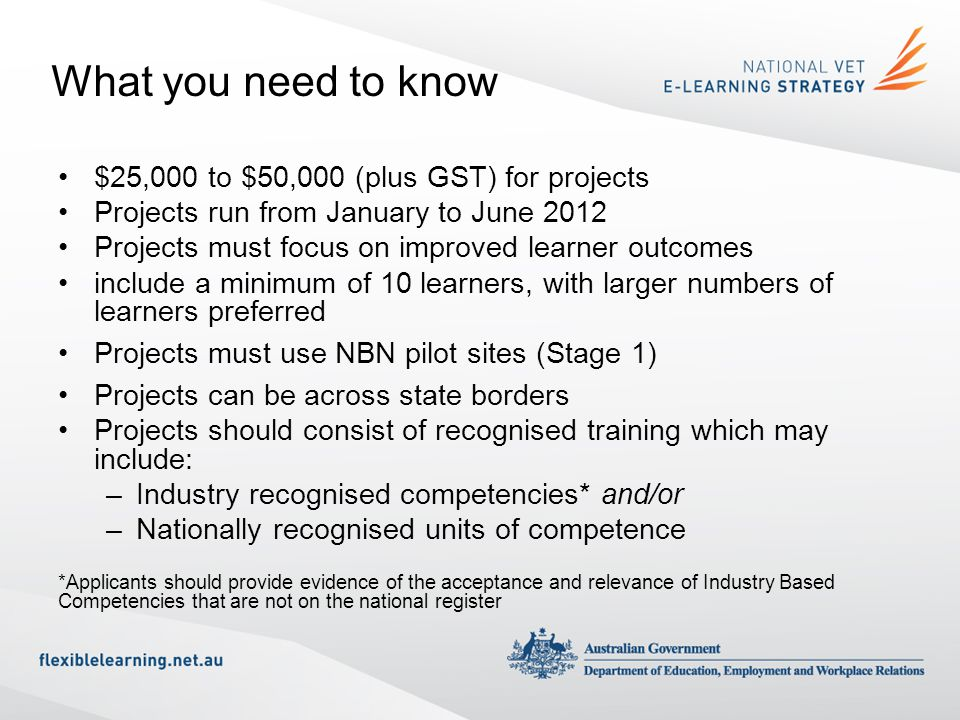 What you need to know $25,000 to $50,000 (plus GST) for projects