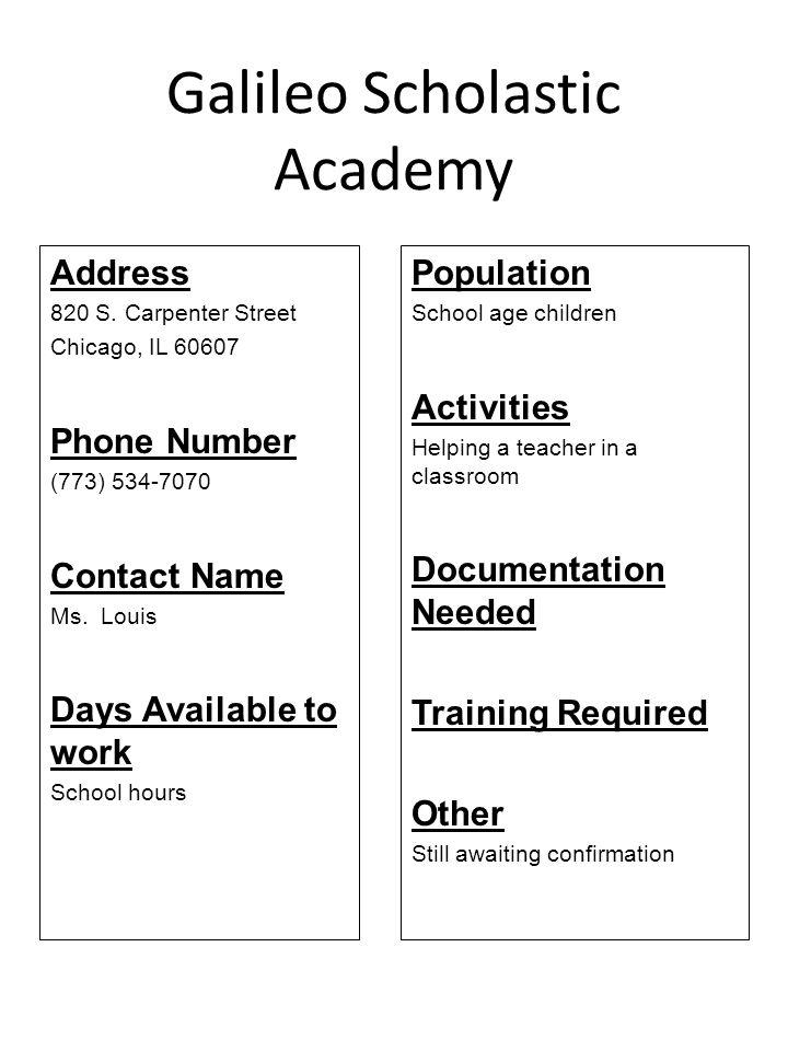 Galileo Scholastic Academy