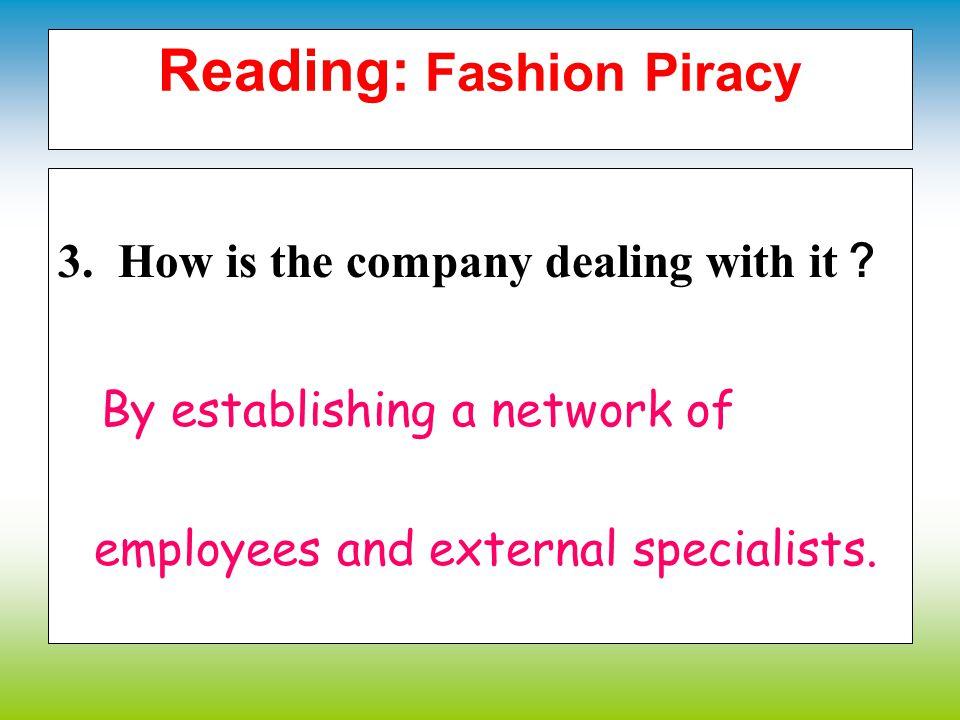 Reading: Fashion Piracy