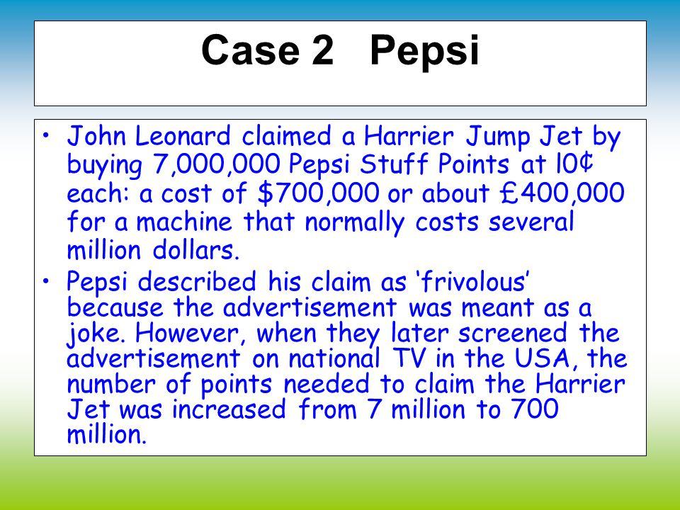 Case 2 Pepsi