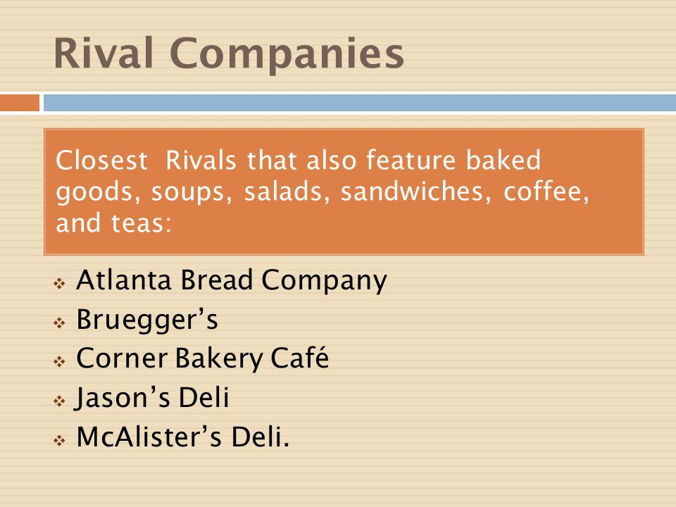 organizational behavior case study panera bread company Panera bread company financial with a sale to europe's jab holding company, panera will join a stable of here's a case study, on panera bread by.